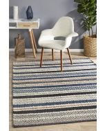 Rhythm Swing Denim Rug 320X230cm