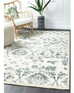 Mayfair Illusion Blue Runner Rug 300X80cm