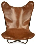Jaipur Leather COVER ONLY with Whipstich Detail - Tan