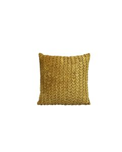 Pomp Velvet Cushion - Ocre - Set of 2