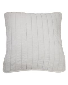 "Ed ""Marmont"" Euro Pillowcase - 66X66Cm - Oyster"