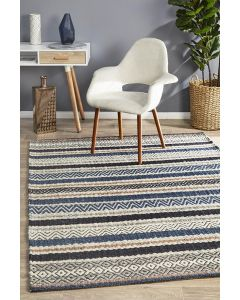 Rhythm Swing Denim Rug 400X300cm