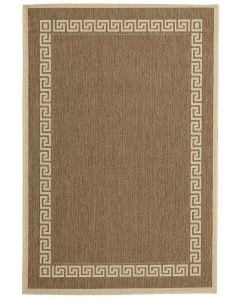 Indoor Outdoor Key Design Rug Brown 220x150cm