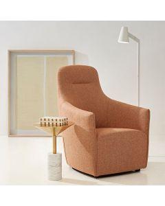 Breeze Chair In Woven Ochre