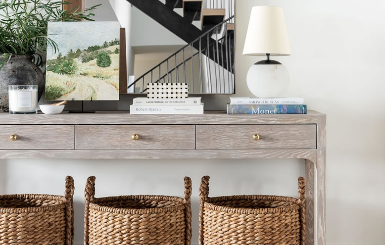 How to Style Your Entryway